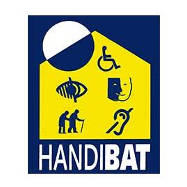 Logo certification Handibat